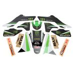 Kawasaki FX Monster Energy Complete Graphics Kit - 19-02130