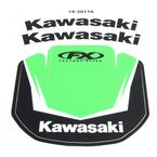 Kawasaki Front Fender Graphic Kit - 19-30116