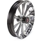 Front Platinum Cut 21 x 3.5 Revel One-Piece Chrome-Forged Aluminum Wheel - 12027106PRELBMP
