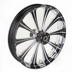 Front Platinum Cut 21 x 3.5 Revel One-Piece Chrome-Forged Aluminum Wheel - 12047106PRELBMP