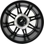 Matte Black 14 in. X 7 in. SS216 Alloy Black Ops Wheel - 1428543536B