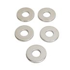Chrome Front Axle Washers - 0214-0889