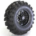 Front Left Matte Black 26x9-12 Slingshot Tire/Wheel Kit - 2013-011L