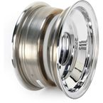 Polished A-6 Series Large Bell 10x5 Wheel - X153120