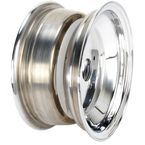 Polished A-6 Series Large Bell 10x5 Wheel - X154085