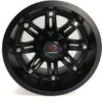 157 Edge 12x7 Golf Cart Wheel - 157-12744MB-43