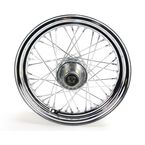 Chrome 16x3.00 40 Spoke Front Wheel - 51643