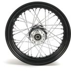 Black 16x3.00 40 Spoke Rear Wheel - 51672