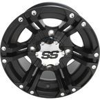 Front/Rear SS212 Matte Black 12x7 Wheel - 1222231536B