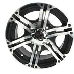 Front/Rear SS212 Machined /Black Accents 14x6 Wheel  - 1422232404B