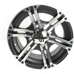 Front/Rear SS212 Machined /Black Accents 14x8 Wheel  - 1422234404B