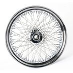 Chrome 18 x 5.5 80-Spoke Laced Wheel Assembly - 02040226