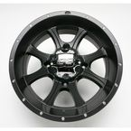SS108 14 in. Black Alloy Wheel - 1428296536B