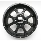 SS108 14 in. Black Alloy Wheel - 1428298536B