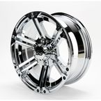 Front Chrome SS212 Alloy 14x6 Wheel - 1428382402B