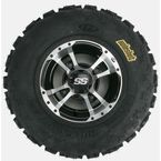 Front Left Holeshot GNCC 22x7x10 Tire w/SS112 Machined Alloy Wheel - 43333L