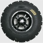Front Left Holeshot GNCC 22x10x7 Tire w/Black SS112 Alloy Wheel  - 43339L