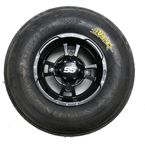 Front Left Sand Star SS 21x7x10 Tire w/SS112 Black Alloy Wheel  - 43343L