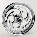 Chrome 16 x 3.5 Savage One-Piece Wheel - 16350-9916-85C