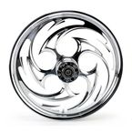 Chrome 21 x 2.15 Savage One-Piece Wheel - 21215-9913-85C