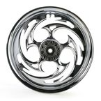 Chrome 16 x 3.5 Savage One-Piece Wheel - 16350-9978-85C