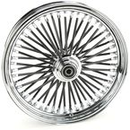 Black 18 x 3.5 Fat Daddy 50-Spoke Radially Laced Wheel for Single Disc - 02030350