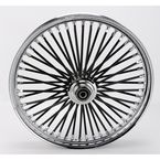 Black 21 x 2.15 Fat Daddy 50-Spoke Radially Laced Wheel for Single Disc - 02030352