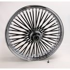 Black 21 x 3.5 Fat Daddy 50-Spoke Radially Laced Wheel for Dual Discs - 02030355
