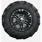 Mud Lite XL 26X12-12 Tire/SS212 Alloy Black Wheel Kit - 43164L