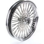Chrome 21 x 3.5 Fat Daddy 50-Spoke Radially Laced Wheel for Dual Disc - 02030385