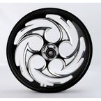 Black 21 x 2.15 Savage Eclipse One-Piece Wheel  - 21215-9927-85E