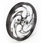 Black 21 x 2.15 Savage Eclipse One-Piece Wheel  - 21215-9903-85E