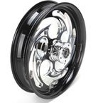 Black 18 x 3.5 Savage Eclipse One-Piece Wheel for Models w/o ABS - 18350-9031-85E