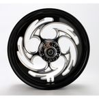Black 16 x 3.5 Savage Eclipse One-Piece Wheel  - 16350-9970-85E