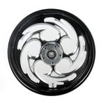 Black 16 x 3.5 Savage Eclipse One-Piece Wheel  - 16350-9978-85E