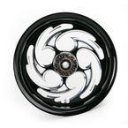 Black 17 x 6.25 Savage Eclipse One-Piece Wheel - 17625-9002-85E