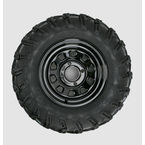 Rear Right Mud Lite AT 25x10-12 Tire w/Black Delta Steel Wheel  - 44831R
