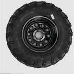 Rear Left Mud Lite AT 25x10-12 Tire w/Black Delta Steel Wheel  - 44832L