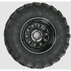 Rear Right Mud Lite AT 25x10-12 Tire w/Black Delta Steel Wheel  - 44832R
