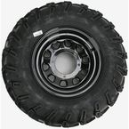 Rear Left Mud Lite AT 25x10-12 Tire w/Black Delta Steel Wheel  - 44834L