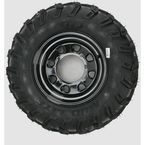 Rear Left Mud Lite AT 25x10-12 Tire w/Black Delta Steel Wheel  - 44838L