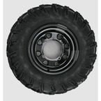 Rear Right Mud Lite AT 25x10-12 Tire w/Black Delta Steel Wheel  - 44838R