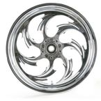 Front Chrome 17 x 3.5 Assault One-Piece Forged Wheel - 1735-S9038-95C