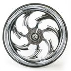 Rear Chrome 17 x 6.25 Assault One-Piece Forged Wheel - 0317625-938995C