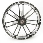 23 in. x 3.5 in. Slam One-Piece Contrast-Cut Aluminum Wheel for Models w/o ABS  - 12027306RSLMBM