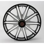 23 in. x 3.5 in. Boss One-Piece Contrast-Cut Aluminum Wheel for Models w/o ABS - 12027306RBSSBM