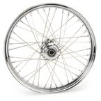 Chrome 21 x 2.15 40-Spoke Laced Wheel Assembly  - 02030390