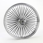 Black 21 x 3.5 Fat Daddy 50-Spoke Radially Laced Wheel for Dual Disc - 02030402