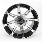Machined/Black 387X 14x7 Wheel - 0230-0456