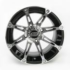 Machined/Black 387X 14x8 Wheel - 0230-0458